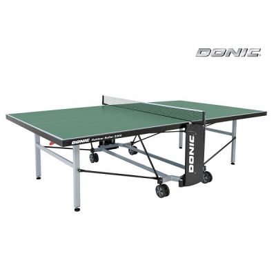 Теннисный стол Donic всепогодный Outdoor Roller 1000 зеленый 230291-G