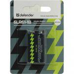 Батарейки Defender Alkaline 6LR61-1B 9V 56042