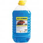 """Жидкость низкозамерзающая для стеклоомывателя GLEID """"ICE STORM"""" желтая крышка 9259165"""