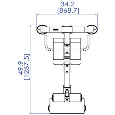 Гиперэкстензия Powertec Crunch P-HC10