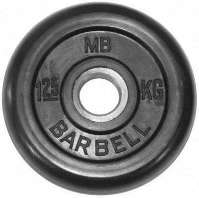 Диск MB Barbell олимпийские 1,25 кг 51 мм MB-PltB50-1,25