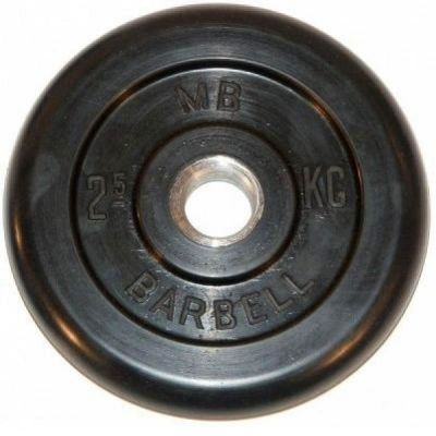 Диск MB Barbell 2,5 кг 26 мм MB-PltB26-2,5