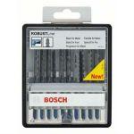 Набор Bosch пилок для лобзика Robust line, по металлу (10 шт.) кассета 2607010541