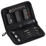 Набор Bosch (биты, головки, 6-гр ключи, рев.отвертка,TiN) 38 шт. 2607019506