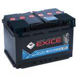 Автомобильный аккумулятор Exice Classic 75 N п.п. 9195456