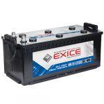 Автомобильный аккумулятор Exice STANDARD 190 N о.п. (конус+ перех) ( - + ) 9200163