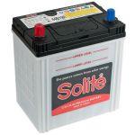 Автомобильный аккумулятор Solite Asia 44 А/ч, п.п. AR (B1) тонк. кл. с бортиком (44B19R) 9185906