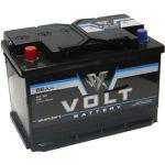 Автомобильный аккумулятор VOLT standart 66 N о.п. 9189645