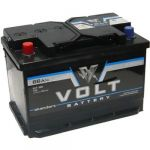 Автомобильный аккумулятор VOLT standart 66 N п.п. 9189644