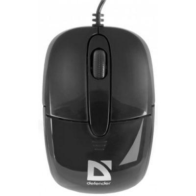 Мышь проводная Defender Optimum MS-130 Black 52130