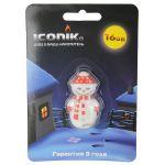 Флешка Iconik USB Drive Снеговик 16GB RB-SM1-16GB