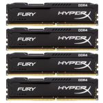 Оперативная память Kingston HyperX FURY Black 32GB 2400MHz DDR4 CL15 DIMM (Kit of 4) HX424C15FB2K4/32