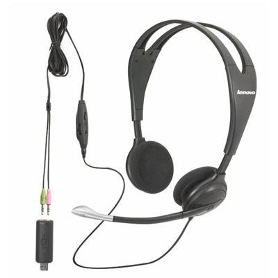 Lenovo Гарнитура USB Multimedia Headset 40Y8518