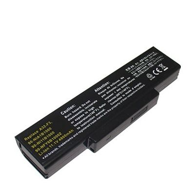 Аккумулятор TopON для Asus M51, A9, F2, F3, Z53 Series D-DST120 / A32-F3