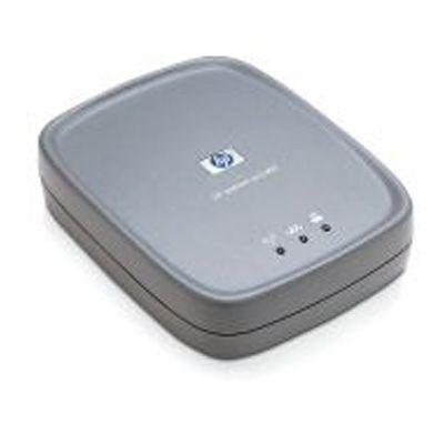Опция устройства печати HP Внешний сервер печати Jetdirect ew2400 для беспроводных сетей стандарта 802.11g и сетей Fast Ethernet J7951G
