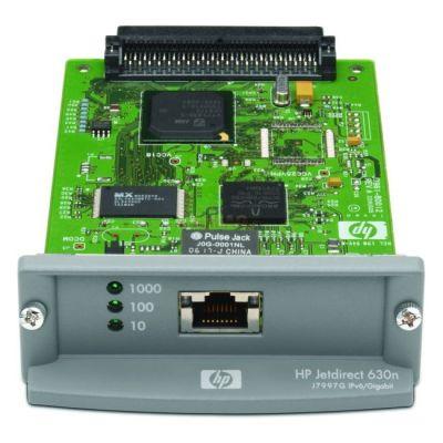 Опция устройства печати HP Внутренний сервер печати JetDirect 630n IPv4/IPv6 Gigabit Ethernet J7997G