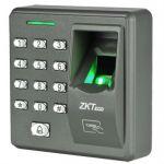 Контроллер ZKTeco ZK-X7 автономный контроллер с биометрическим считывателем отпечатка пальца