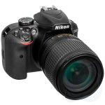 Зеркальный фотоаппарат Nikon D3400 черный VBA490K002