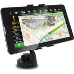 "Навигатор Navitel 1024x600 8Gb microSD Bluetooth FM-Transmitter черный GPS A735 + GLONASS 7"""