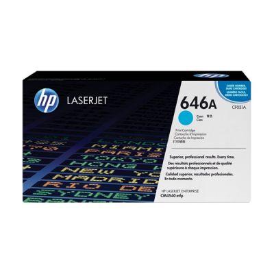 Картридж HP CM4540MFP Cyan/Голубой (CF031A)