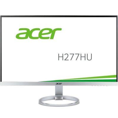 Монитор Acer H277HUsmipuz серебристый UM.HH7EE.018 (UM.HH7EE.019)