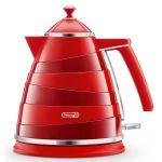 Электрический чайник Delonghi KBA2001.R красный 0456606