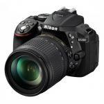 Зеркальный фотоаппарат Nikon D5300 Kit Black VBA370K004