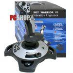 Руль (джойстик) Black Warrior BW-211 Sky Warrior-V1 12 кнопок, газ, обзор, 3D, виброотдача, usb