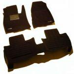 Pradar Коврики салона текст. Infiniti QX70/FX II 2008-> 3D Pradar (высок.борт.) черные (с МП) SI 19-00193
