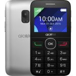 Телефон Alcatel 2008G Black/Met Silver 2008G-3BALRU1