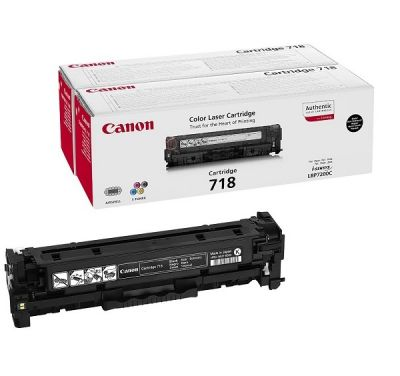 Картридж Canon CRG718 Black/Черный (2662B005)