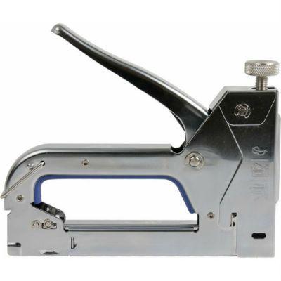 Степлер КОБАЛЬТ механический скобы 4-14 мм, тип 53, верхний регулятор удара 240-652