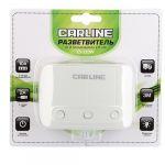 Azard Разветвитель прикуривателя CS 320w на 3 гнезда на 10А и 2 USB на проводе, цвет белый 9177673