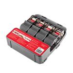 Ремень Autoprofi багажный с храповым механизмом, 2,54см./4,5м., прочность на разрыв 550кг., 4шт. (STR-550) 9189233