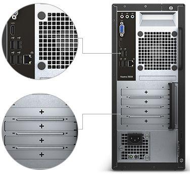 Настольный компьютер Dell Vostro 3650 MT 3650-0311