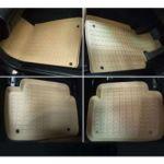 Коврики в салон StarDiamond Lexus IS250 с бортиками коричневые РАЗНОЦВЕТНЫЕ (4 части) ST 69-00087