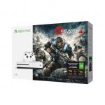 Игровая приставка Microsoft консоль Xbox One S с 1ТБ памяти + игра Gears of War 4 234-00013-1