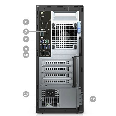 Настольный компьютер Dell Optiplex 5040 MT 5040-1974