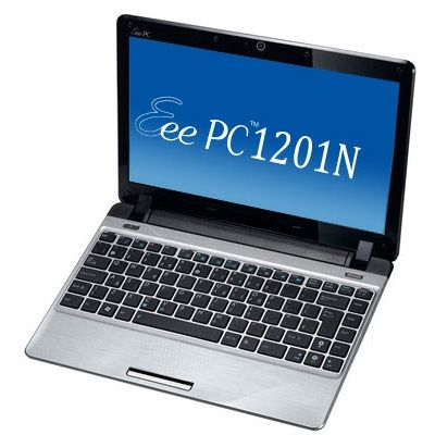 Ноутбук ASUS EEE PC 1201N Windows 7 (Silver)
