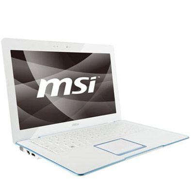 Ноутбук MSI X-Slim X400-037 White-Blue