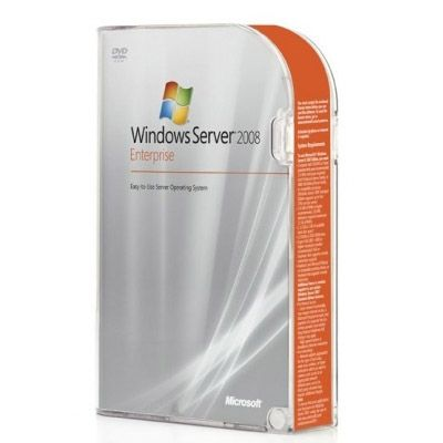 Программное обеспечение Microsoft Windows Server 2008 R2 Enterprise Edition 64bit Russian rok DVD 1-8CPU 2Tb with 10 cal (Proliant only) 468727-251