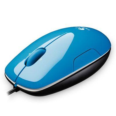 Мышь проводная Logitech LS1 Laser Blue 910-001109