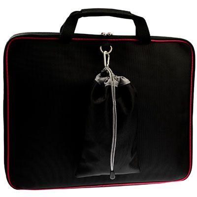 """Сумка Krusell Radical Slim laptop Street Black/Ivory 15.4"""" 71118"""