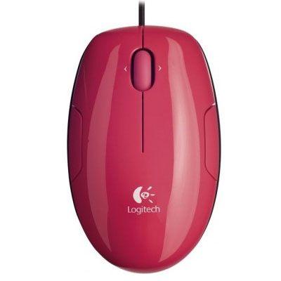 Мышь проводная Logitech LS1 Laser Pink 910-001160