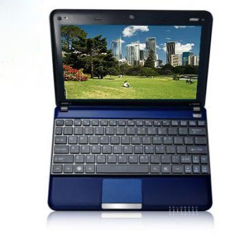 Ноутбук MSI Wind U135-233 Black-Blue