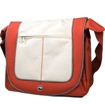 """Сумка Krusell Radical Messenger laptop Street Red/Ivory 15.4"""" 71111"""