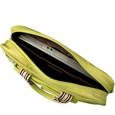"Сумка Krusell Breeze Laptop Lime-Green 15.4"" 71109"