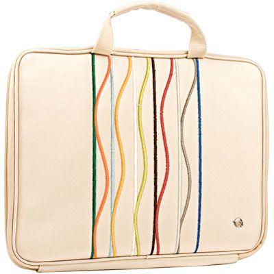 """Сумка Krusell Radical Slim laptop Stripe Ivory 17"""" 71125"""