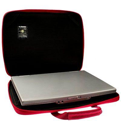 """Сумка Krusell Radical Slim laptop Street Red/Ivory 17"""" 71122"""