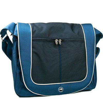 """Сумка Krusell Radical Messenger laptop Street Blue/Navy 15.4"""" 71110"""